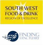 Logos de SWFD & Finding sanctuary